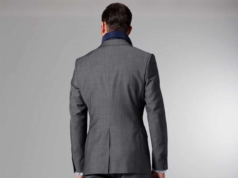 The Nanotech Storm Gray Twill Suit 3