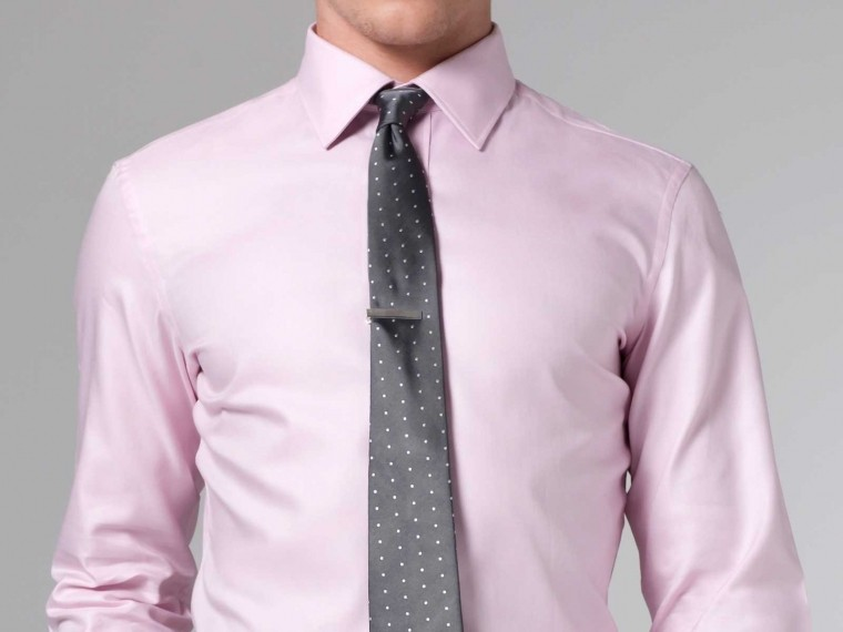 Pink Oxford Shirt 1