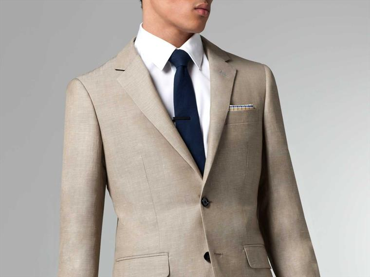 The Ultimate Sand Linen & Wool Suit 1