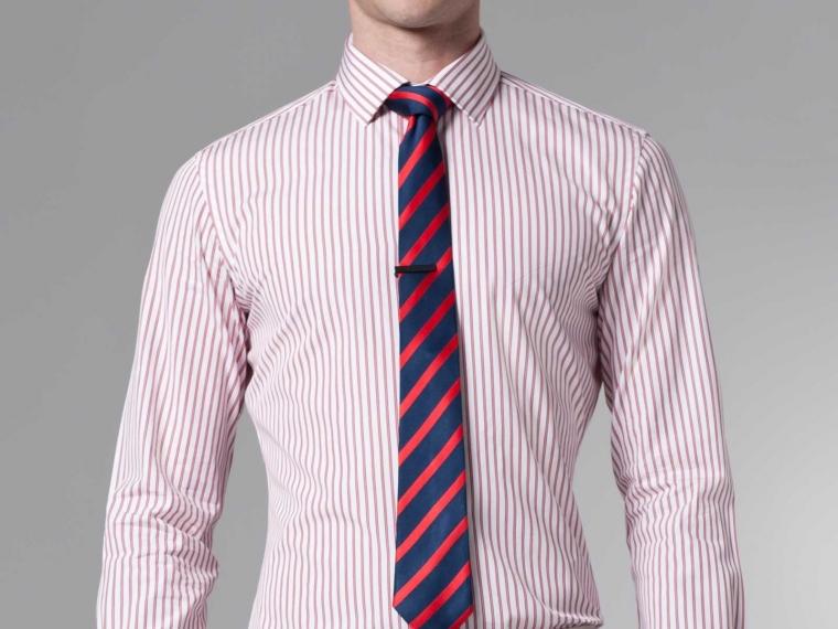 Pink Pinstripe Shirt | Is Shirt