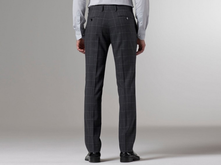 Premium Gray Prince of Wales Suit 6