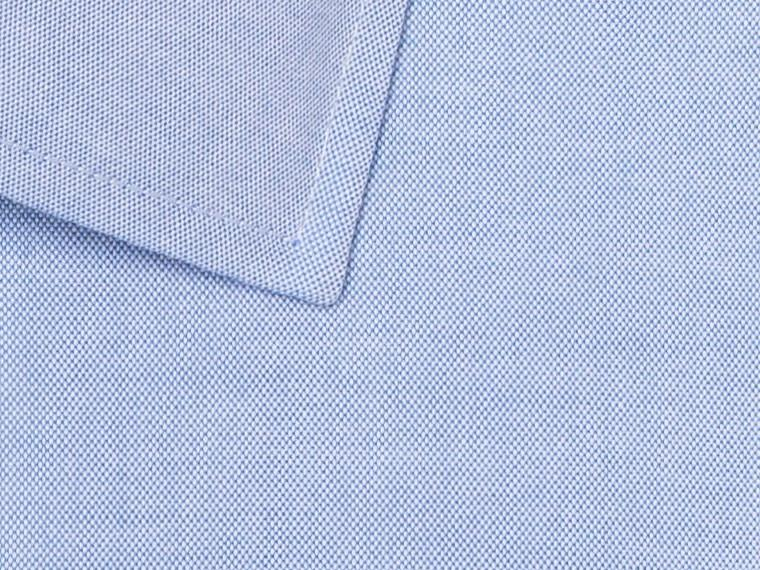 Blue Pinpoint Oxford Shirt 2
