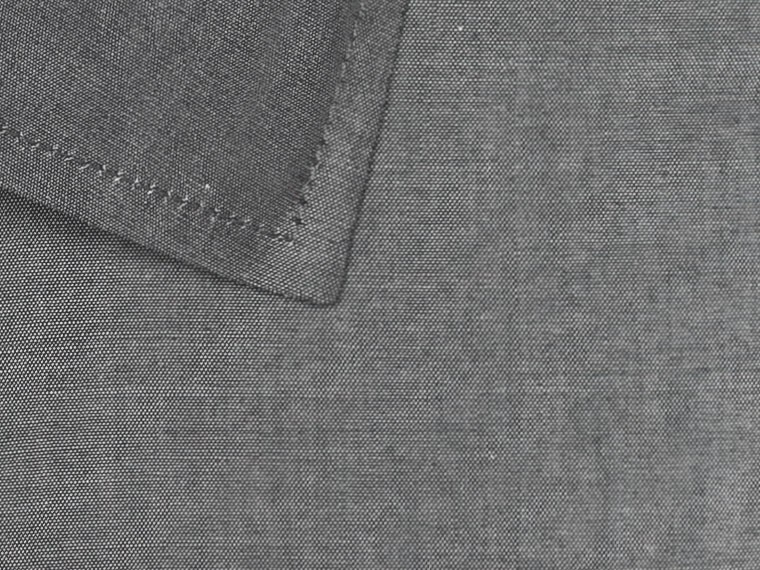 Charcoal Real Chambray Shirt 2
