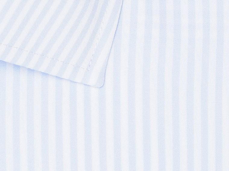 Light Blue Pinstripe Wrinkle Free Shirt