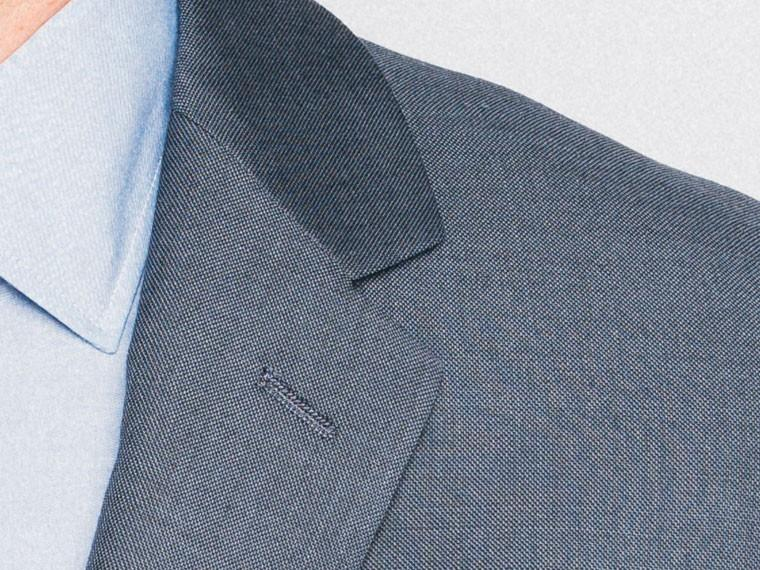 Essential Blue Sharkskin Suit 5