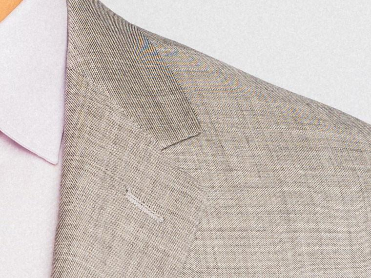 Essential Gray Sharkskin Suit 5