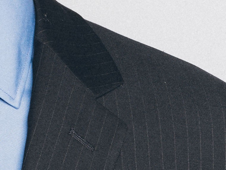 Essential Navy Pinstripe Suit 5