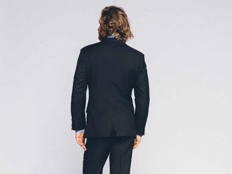 Essential Navy Pinstripe Suit 2