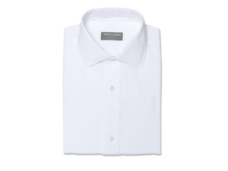 White Pinpoint Oxford Shirt 1