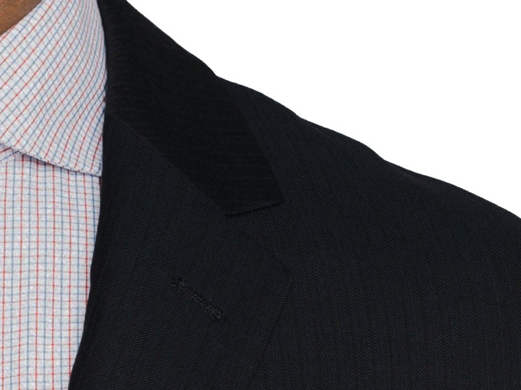 Midnight Stripe Twill Suit 5