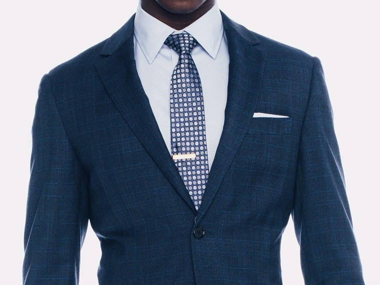 Indigo Plaid Suit 1