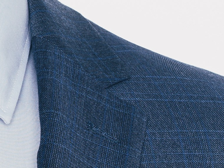 Indigo Plaid Suit 5
