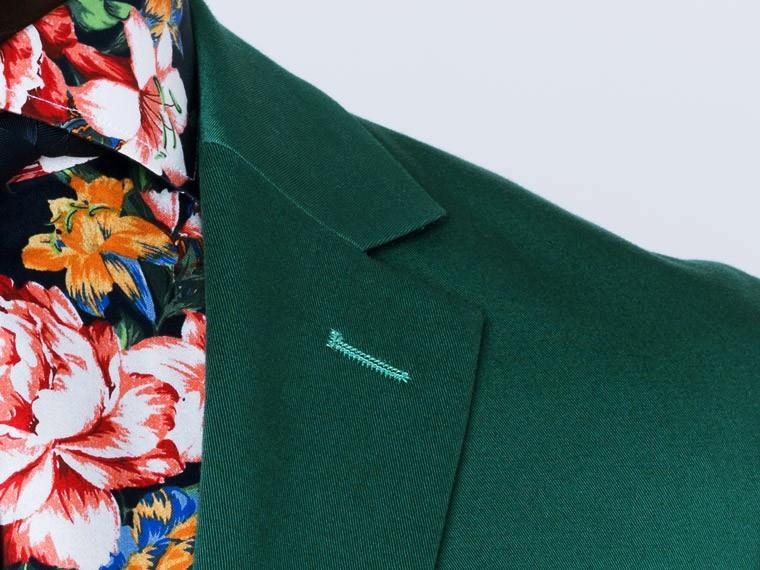 Emerald Green Cotton Suit 5