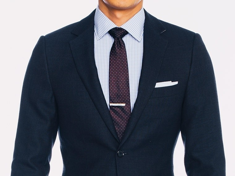 Ink Blue Fineline Suit