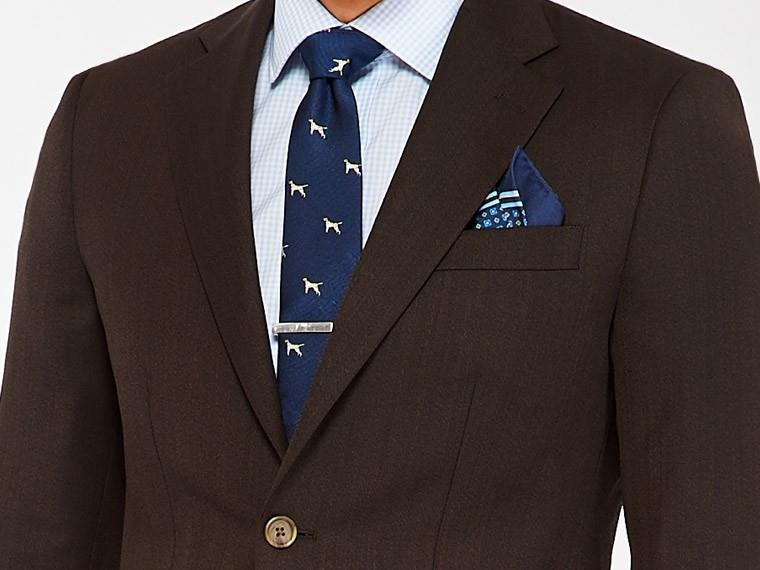 Chestnut Cavalry Twill Suit 1