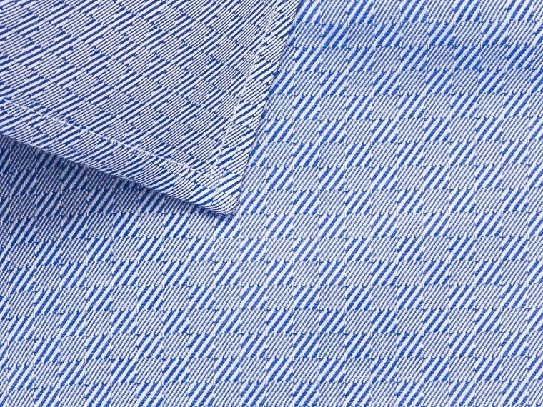 French Blue Tile Twill Shirt 2