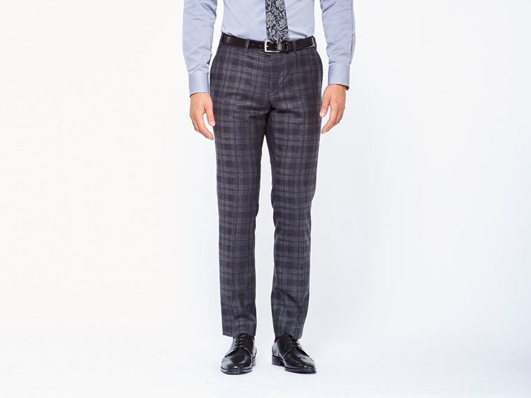 Charcoal Shadow Plaid Suit 3
