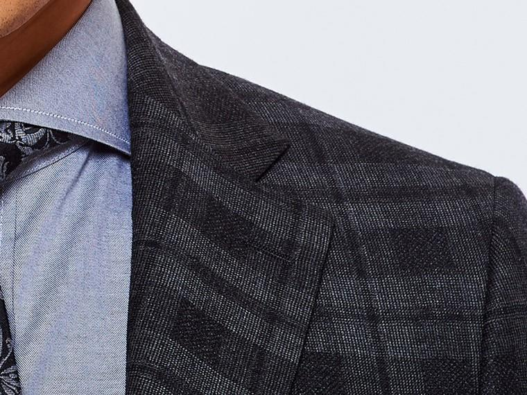 Charcoal Shadow Plaid Suit 5